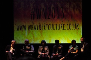 Afternoon guest speakers and provocateurs at #WhatNext2013